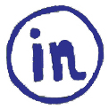 Artzy Social Media Button LINKEDIN