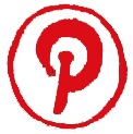 Artzy Social Media Button PINTEREST