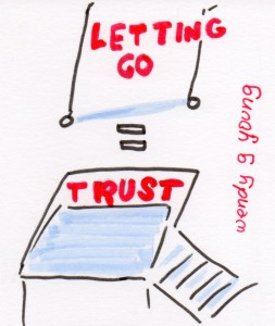 Letting Go Equal Trust